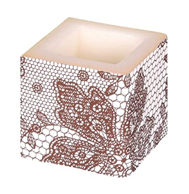 Amscan International 8 Cm Cube Candle Brown by Amscan International