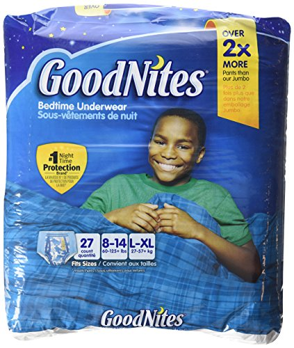 GoodNites Underwear for Boys, Big Pack, Large/Extra Large - 1