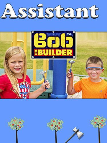 Assistant and the Bat Boy Using Bob the Builder Toys