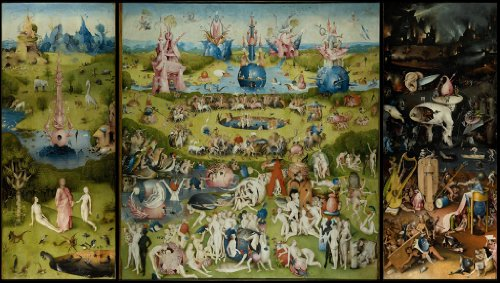 Bosch Garden of Earthly Delights Wooden Jigsaw Puzzle