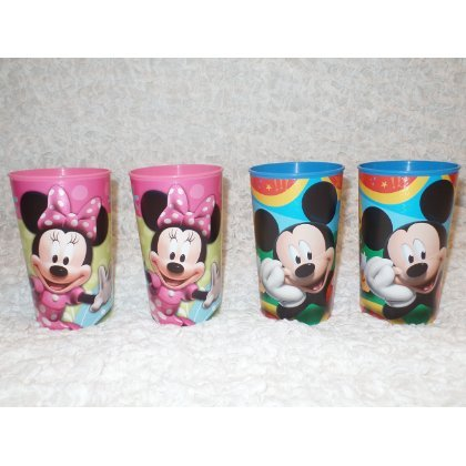 Mickey & Minnie 16-ounce Plastic Party Cup, Party Supplies - 1