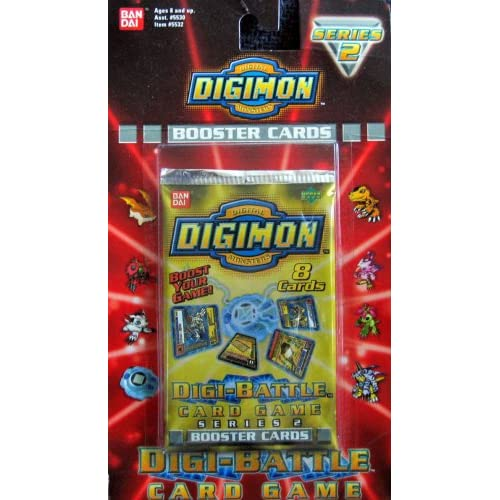Amazon.com: Digimon Digi-Battle Card Game Series 2 Booster Pack