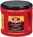 Folgers Gourmet Supreme Coffee, 27.8...