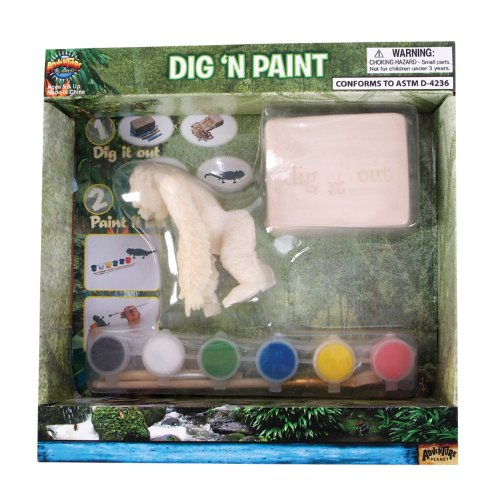 Adventure Planet Gorilla Dig N' Paint Kit