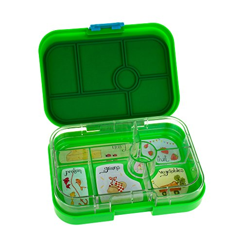 yumbox pomme green leakproof bento lunch box container for. Black Bedroom Furniture Sets. Home Design Ideas