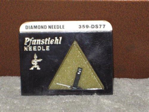 Pfanstiehl 359-Ds77 Diamond Phonograph Record Player Needle N314Sd, E15Xsd, 606Sd, E31073Ds, 832Ds, Ac329D1, Electro Voice 2619Ds; Fits Electro Voice 132, 132D, 163, 163D