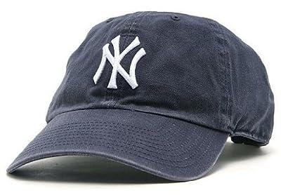 ニューヨーク・ヤンキース MLB カジュアルキャップ(CLEAN UP CAP)