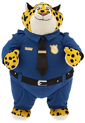 "Disney Zootopia Clawhauser Exclusive 13 1/2"" Plush"