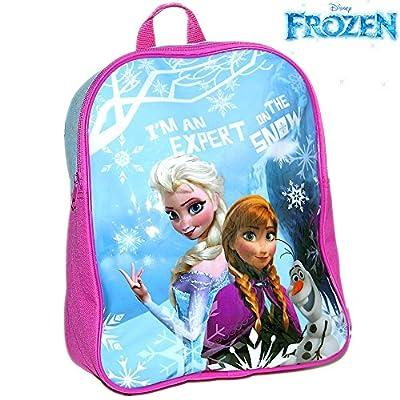 Disney® Frozen Official Kids Children Girls School Travel Rucksack Backpack Bag - Elsa Anna and Olaf from Disney® Frozen