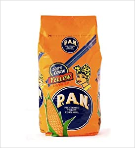 Pan Harina-Harina Pan Yellow Corn Meal Flour 1 Kg Venezuela