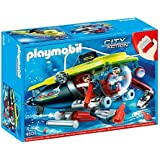 Playmobil Deep Sea Submarine with Underwater Motor