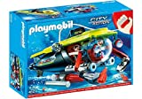 Playmobil 4909 Deep Sea Submarine with Underwater Motor