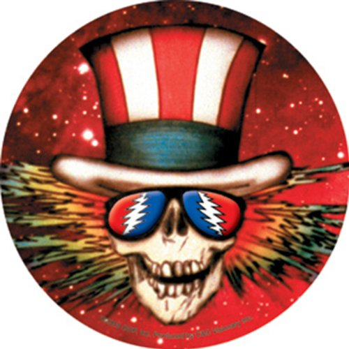 Licenses Products Grateful Dead Uncle Sam Head Sticker