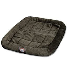 48 inch Charcoal Crate Pet Bed Mat By Majestic Pet Products