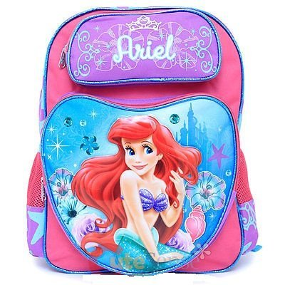 Backpack - Disney - Little Mermaid Large School Bag