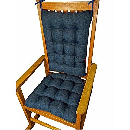 porch rocker cushion set solid color indoor