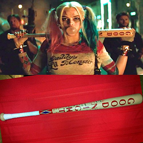 NEW! Harley Quinn Cosplay Plastic Baseball Bat (Suicide Squad) USA Shipping (Mickey Mouse Costume Rental For Adults)