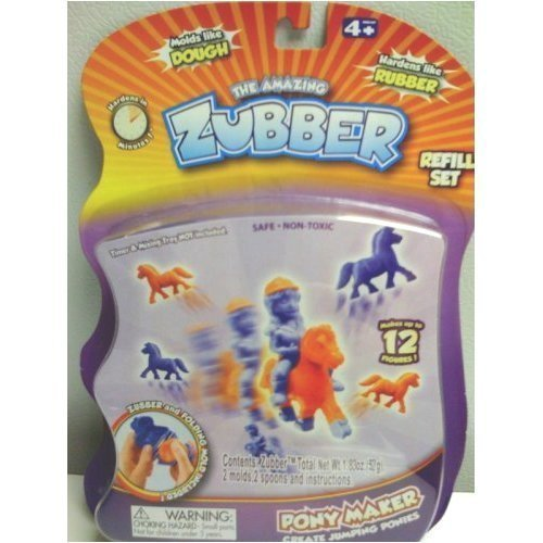Pony Maker The Amazing Zubber Refill Play Set