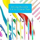 120-Coloring-Gel-Pens-Set-Laneco-60-Unique-Colored-Pens-Plus-60-Gel-Pen-Refills-20-More-Ink-Than-Normal-gel-Pen-Medium-Point-08-mm-Best-Coloring-Pens-for-Adult-Coloring-Book
