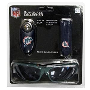 Miami Dolphins Sunglass Set by Siskiyou
