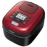 パナソニック 可変圧力IHジャー炊飯器(3合炊き) 豊穣ブラックPanasonic おどり炊き SR-JX055-K