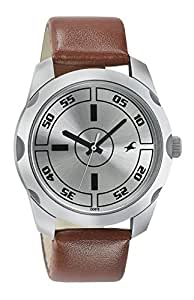 Fastrack Casual Analog Silver Dial Men's Watch - 3123SL02