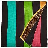 Cuski Sweet DreameezZ Multi tasking bambú Muselina Rainbow niights (Tamaño Extra Grande), diseño de madre e Daddy
