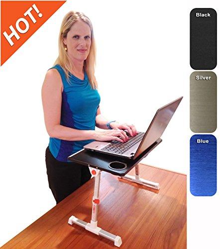 Traveler Folding Stand Up Desk Black Discontinued