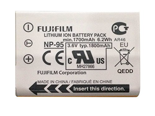 Fujifilm Np-95 Lithium-Ion Rechargeable Battery For Use With Fuji X100