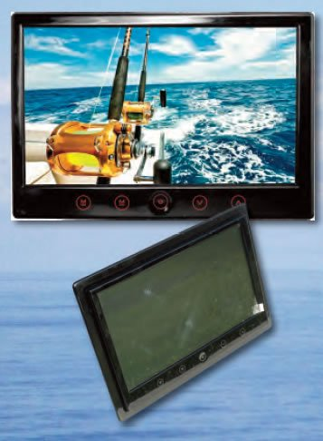 Iris Im-Mon-09 9 Lcd Monitor - 2 Video Inputs