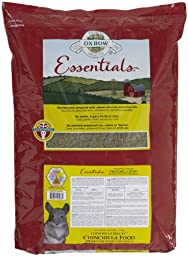 Oxbow Animal Health Essentials Deluxe Chinchilla Food, 25-Pound