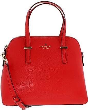 Kate Spade New York Women's Maise Cross Body Bag, Cherry Liqueur, One Size