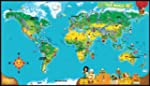 LeapFrog LeapReader World Map (Works...