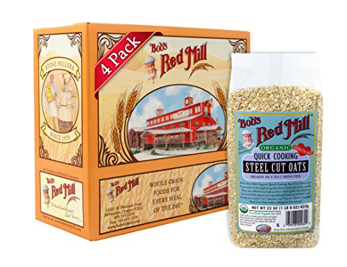bobs-red-mill-organic-quick-cook-steel-cut-oats-22-ounce-pack-of-4