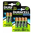 Duracell - Pile Rechargeable - AA x 8 - Stay Charged (LR6)
