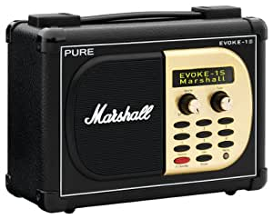 PURE EVOKE-1S Marshal, Portable DAB/FM Radio with Unique Marshall Styling for EVOKE-1S Marshall (discontinued by manufacturer)