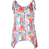 FULL TILT Knot Shoulder Girls Tank