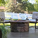 Red Ember 45 in. Clarksville Propane Fire Pit