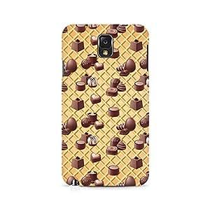 Ebby Eclair Love Premium Printed Case For Samsung Note 3 N9006