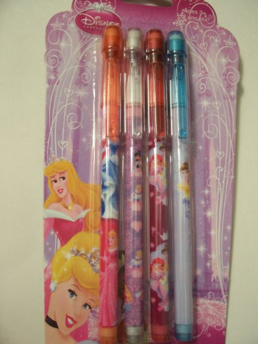 Disney Princess Pop-up Pencils (Set of 4)