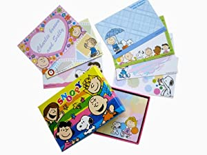 Snoopy Note Cards - Peanuts Memo Cards