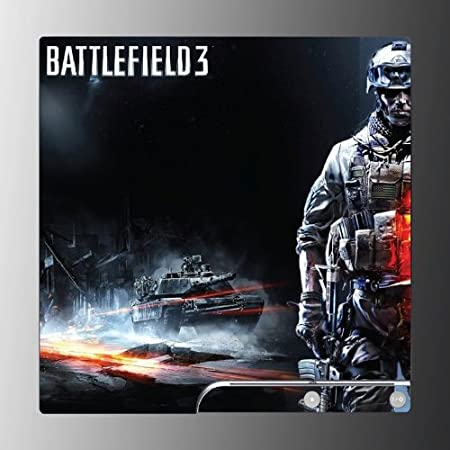 Battlefield 3 FPS 1942 Bad Company 2 Game Vinyl Decal Skin Protector Cover for Playstation 3 PS3 Slim