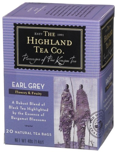The Highland Tea Company Earl Grey Tea, 20-count Tea Bags, 1.4-ounce Boxes (pack Of 6) Picture
