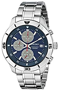 Seiko Men's SKS413 Amazon-Exclusive Stainless Steel Watch