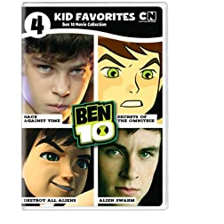 4 Kid Favorites: Ben 10 Movies