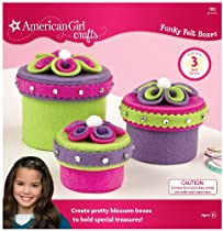 American Girl Crafts Funky Felt Box Kit