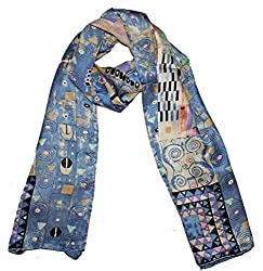 Olina Women's High-Grade Elegant 100% Luxury Long Silk Scarf Shawl (LS010)