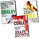 Elizabeth Corley Elizabeth Corley Collection An Andrew Fenwick Mystery 3 Books Set Pack (An Andrew Fenwick Mystery) (Elizabeth Corley Collection) (Fatal Legacy, Requiem Mass, Grave Doubts)
