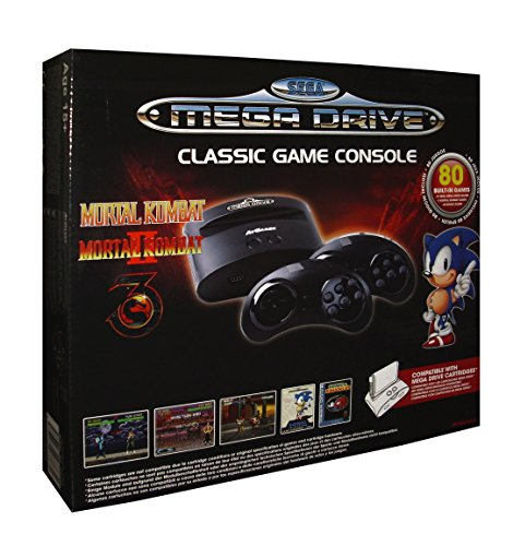 Sega Mega Drive Classic Game Console with 80 Games