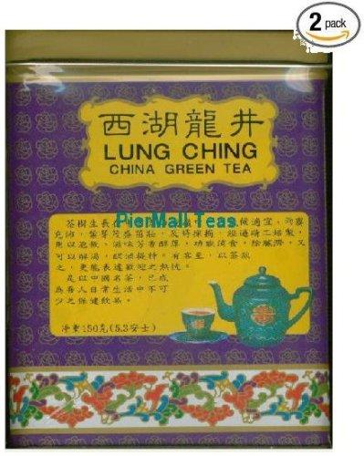 Pm Lung Ching Dragonwell Green Tea - 2X 5.3 Oz